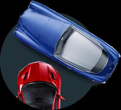 Металлические ограждения для парковок
